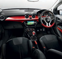Vauxhall ADAM Interior Trim